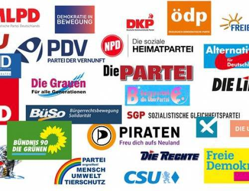 Parteien sind im Grunde Bürgervereinigungen
