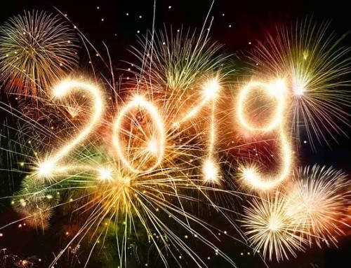 Neujahrsgrüße für 2019!